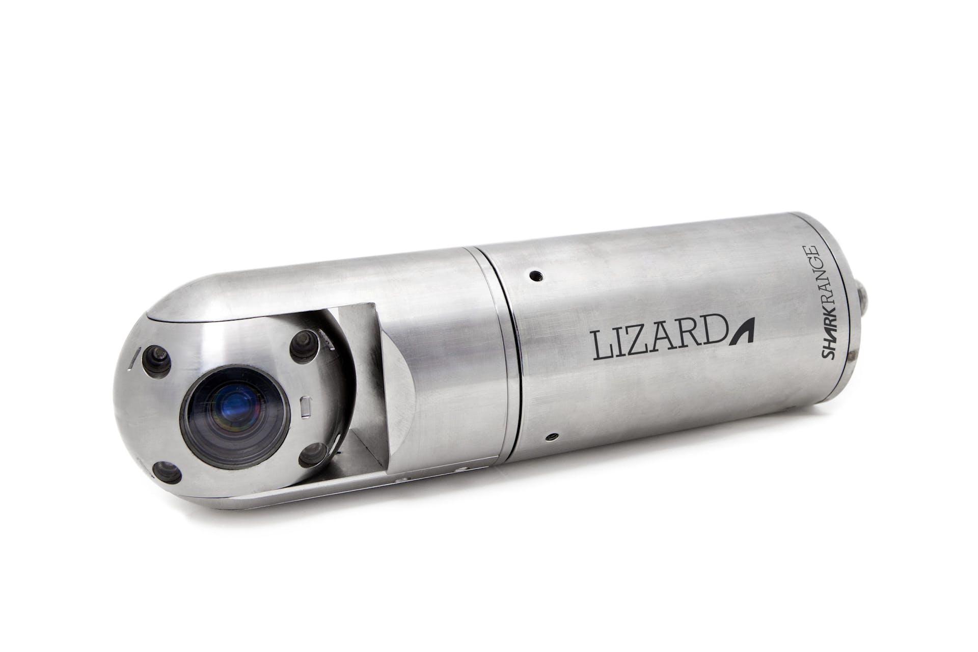 Lizard Shark Subsea underwater pan tilt inspection camera