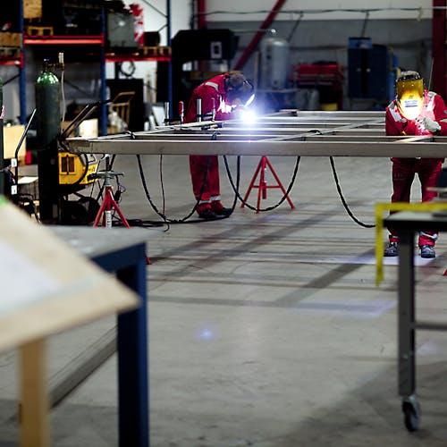 Workshop welding 3