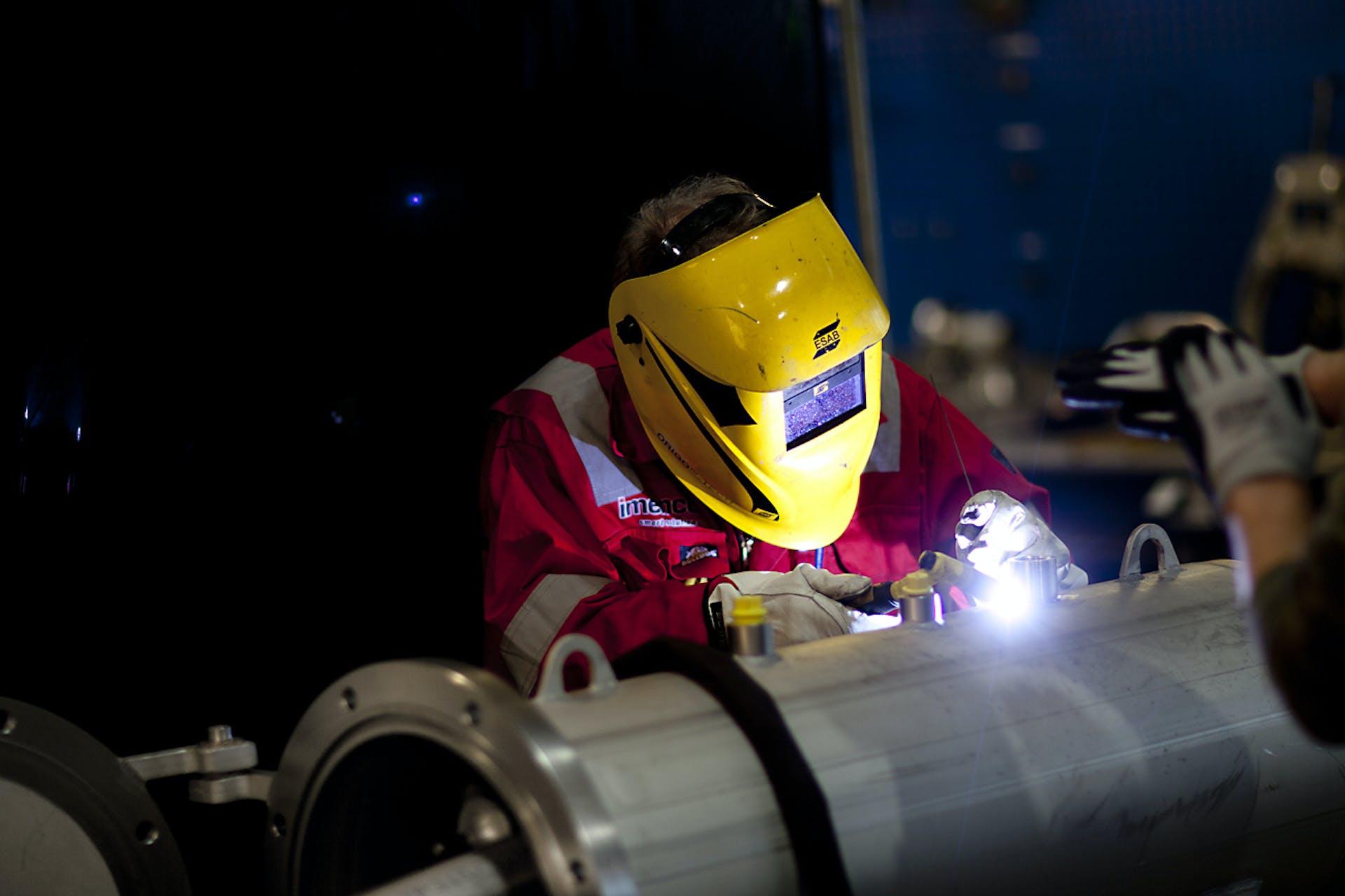 Workshop welding