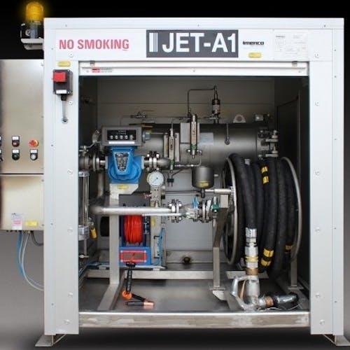 Helicopter Fuelling Dispenser Unit