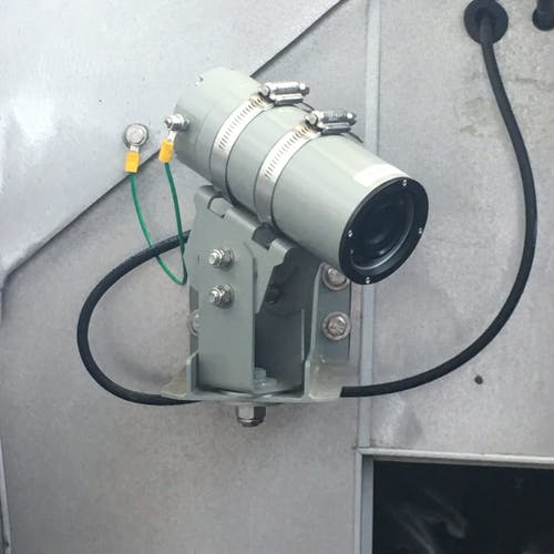 Naval Surface Ship install of Rugged Camera 0482-6010HD-020