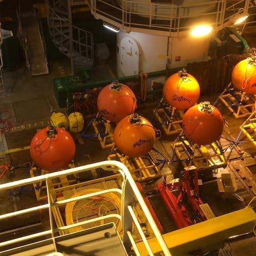 Imenco Nautronix NASNet subsea positioning system on deck 2