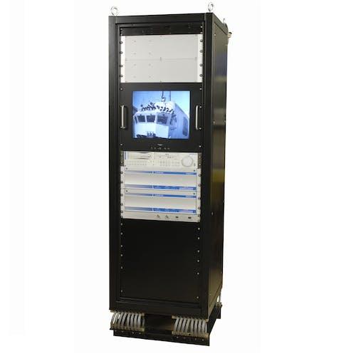 Amphibious Low-Light Surveillance System MCU Rack3