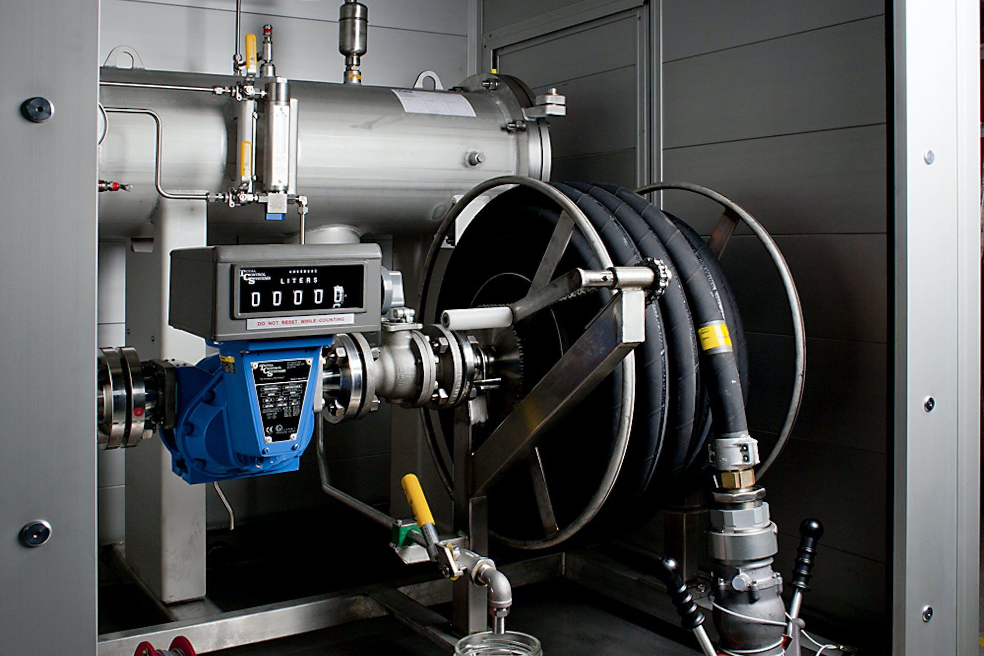 Dispenser Unit Jet A-1 Helifuel Jet Fuel Kerosene Aviation Fuel