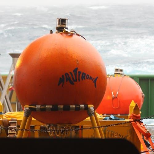 Imenco Nautronix NASNet subsea positioning system on deck logo