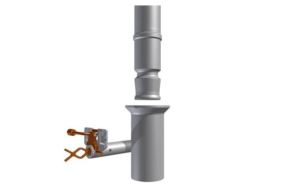 Receptacle for Bottom Releasable Guideposts - RBR