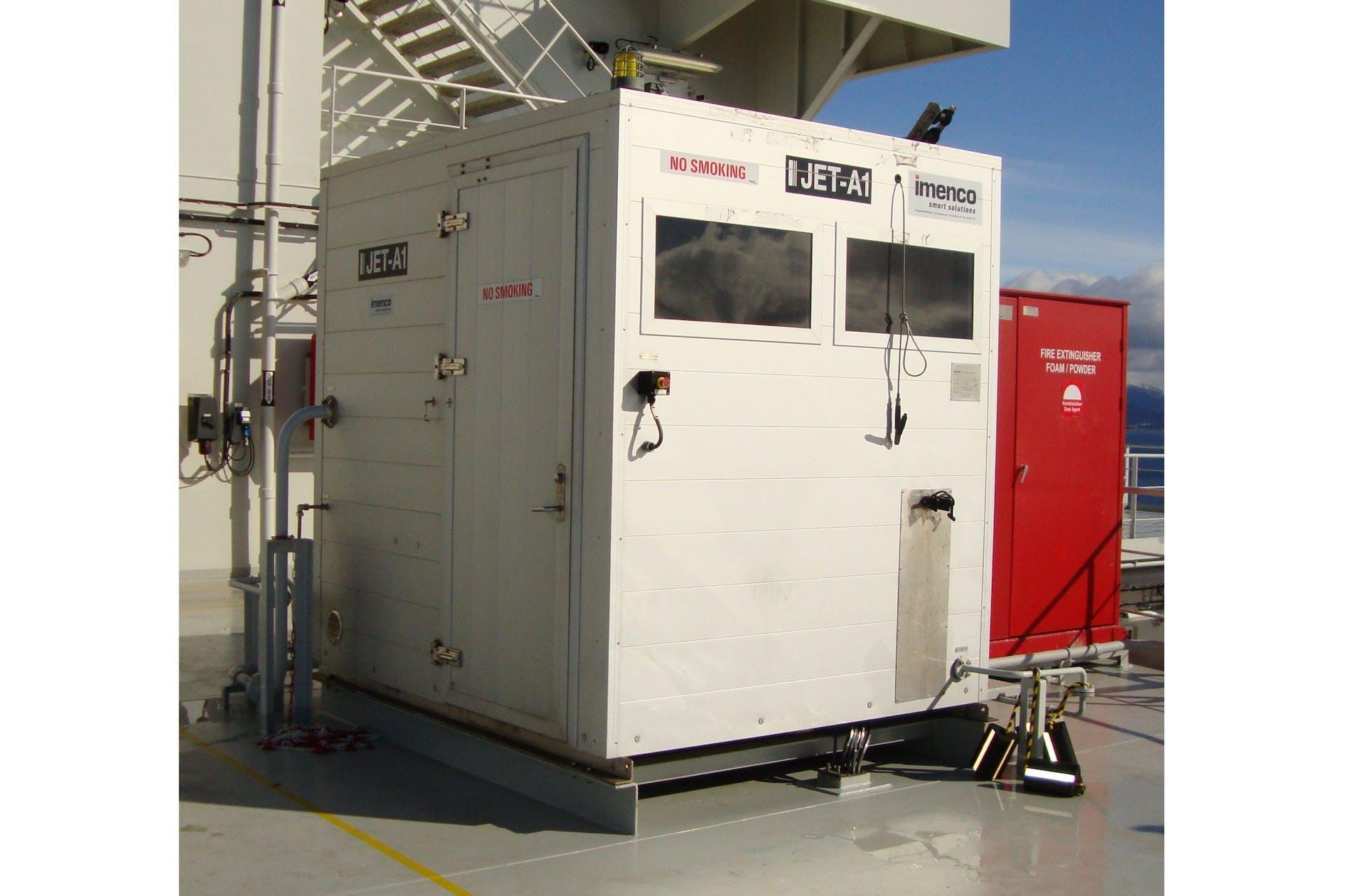 Walk-in Dispenser Unit