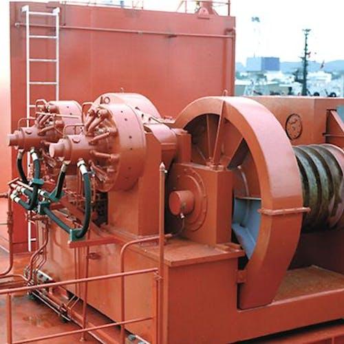 Imenco Bauer hydraulic motor HMJ9 mounted