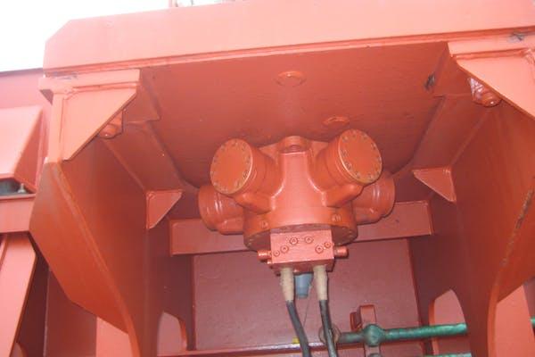 Imenco Bauer hydraulic motor HMM mounted