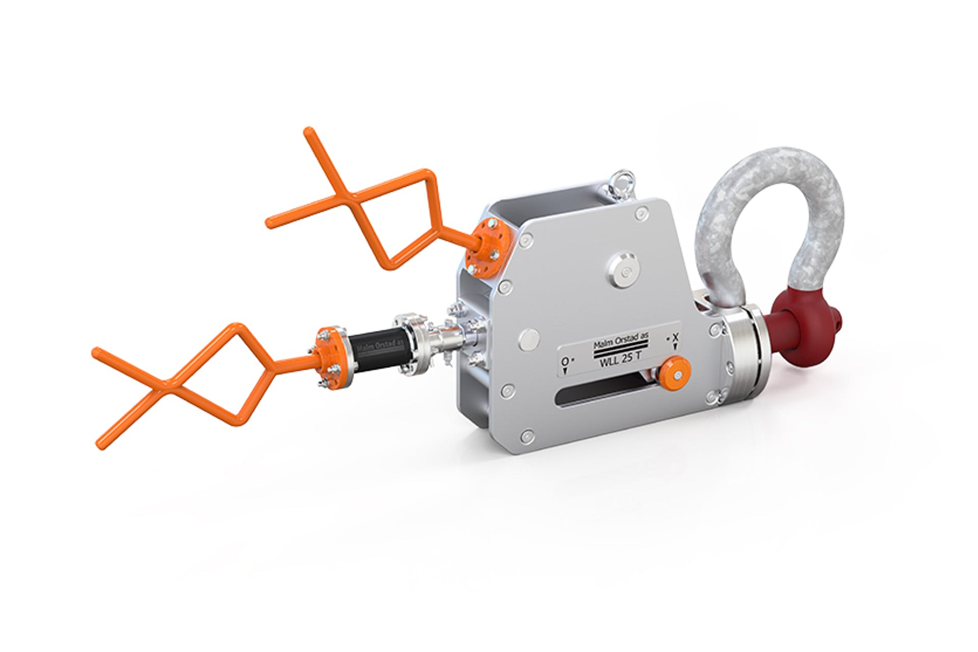 01 ROV-Shackle-with-Fishtail