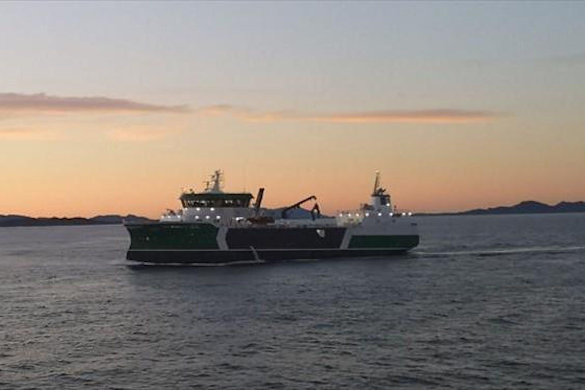 Camerasystem for wellboat