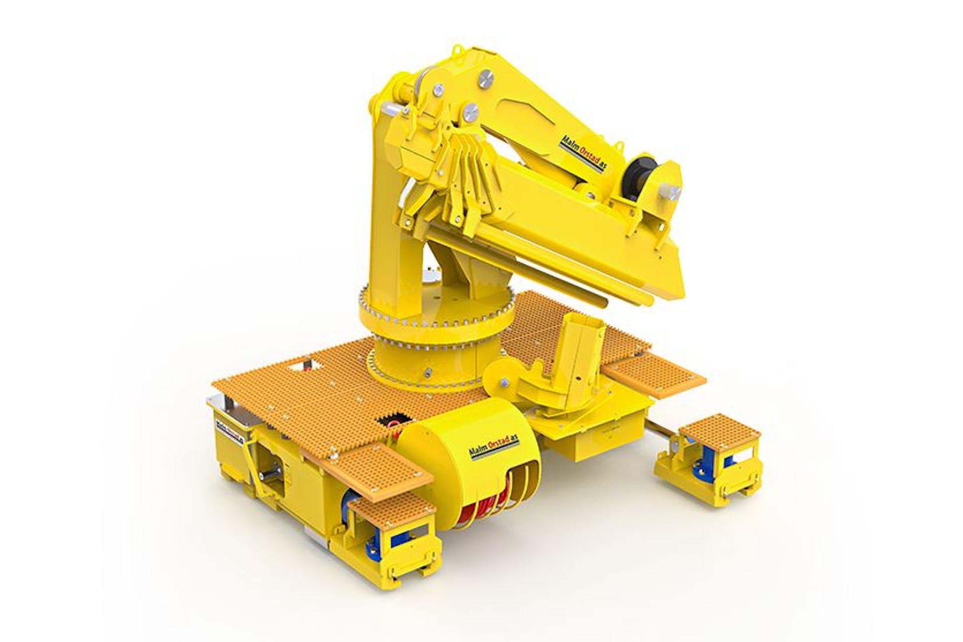 100t-skidding-unit-with-crane-grid-type